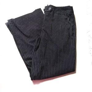 LOFT Julie Pinstripe Dress Pants Plus Size 14